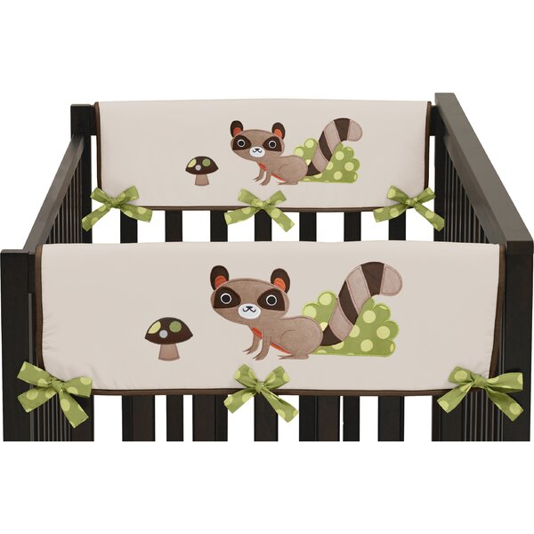 Forest Friends Side Crib Rail Guard Cover (Set of 2) by Sweet Jojo Designs
