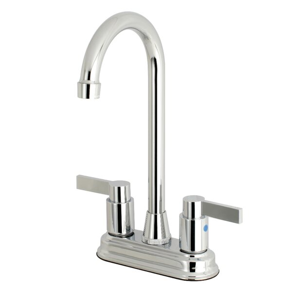 NuvoFusion High-Arch Pull Down Bar Faucet by Kingston Brass