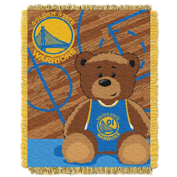 NBA Warriors Half Court Baby Throw by Northwest Co.