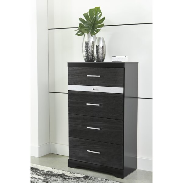 Halewood 4 Drawer Chest By Orren Ellis by Orren Ellis #1