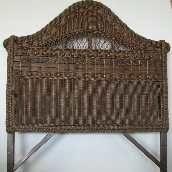 Classic Panel Headboard by Yesteryear Wicker