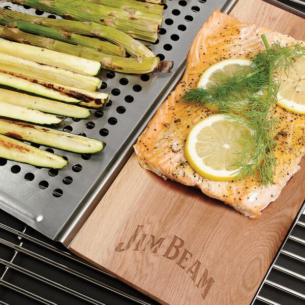 BBQ Topper and Wood Plank by Jim Beam