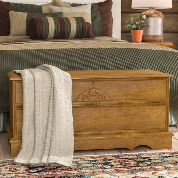 Amya Cedar Chest with Locking Lid by Mistana