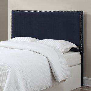 Lambert Upholstered Panel Headboard by Charlton Home