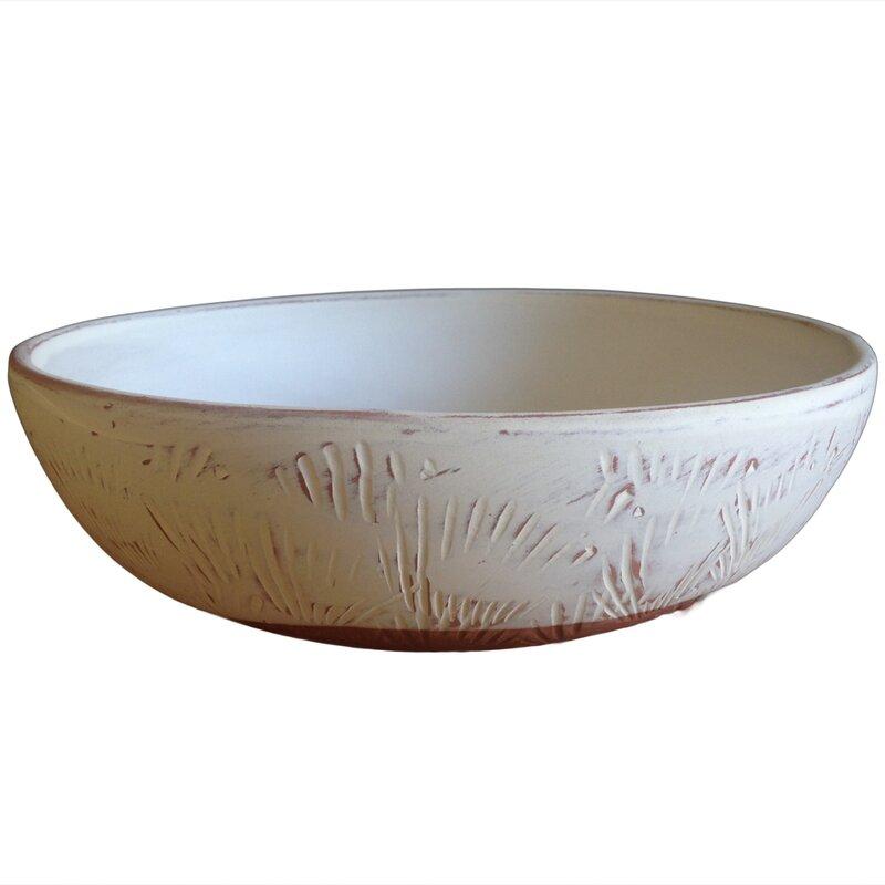 Hawkins Shell Bowl Clay Pot Planter