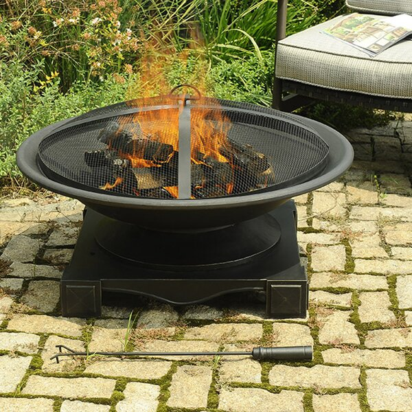 Grimaldi Steel Fire Pit by Sunjoy