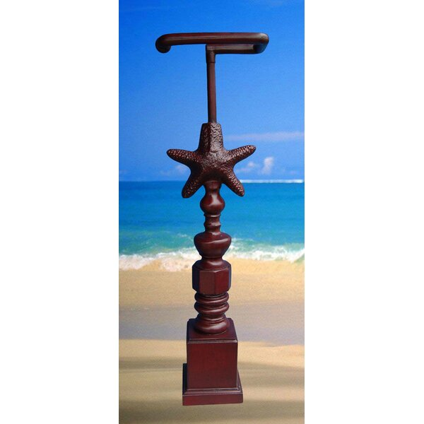 Free Standing Starfish Freestanding Toilet Paper Holder by Hickory Manor House