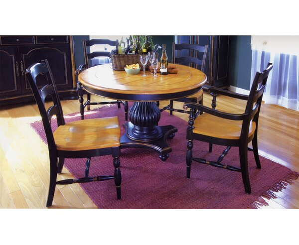 Spinella Solid Wood Dining Table by Bay Isle Home Bay Isle Home
