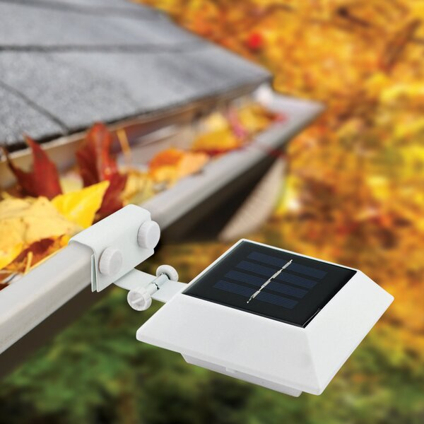 Mount Solar Powered 50 Lumen Outdoor 6 Light LED Flood/Spot Light (Set of 6) by EcoThink™