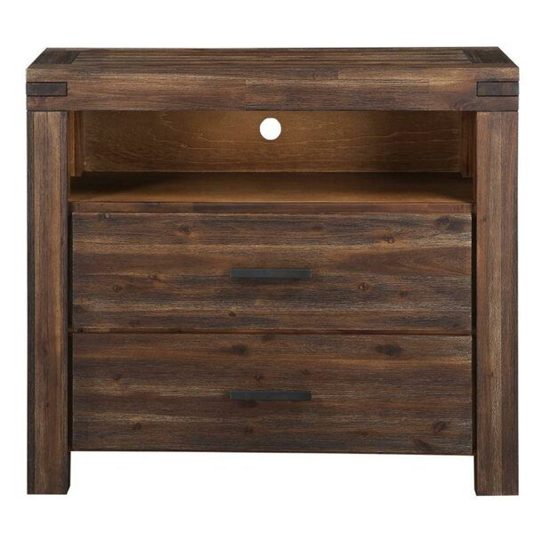 Read Reviews Connally Media 2 Drawer Dresser