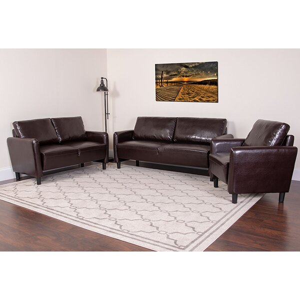 Bellago 3 Piece Living Room Set by Ebern Designs