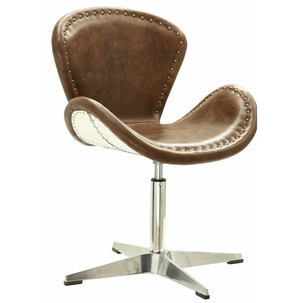 Regina Swivel Lounge Chair by 17 Stories