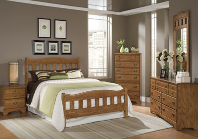 Creek Side Standard Configurable Bedroom Set by Carolina Furniture Works, Inc.