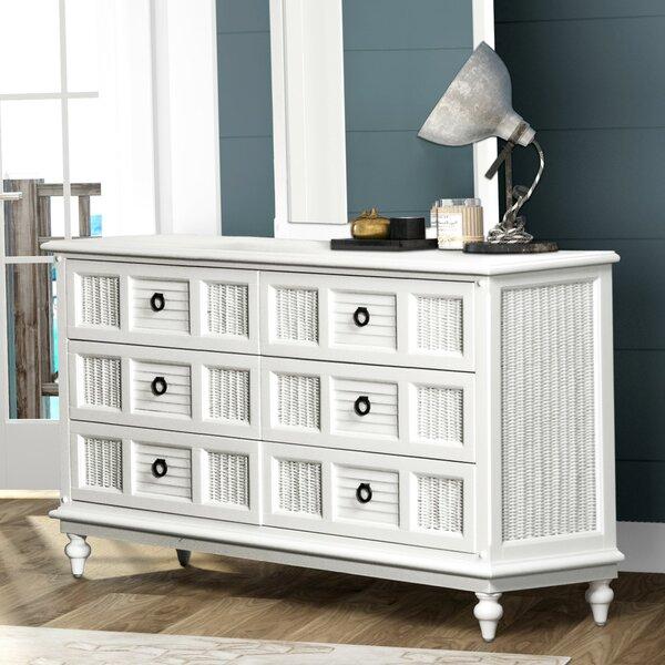 Mathews 6 Drawer Dresser by Bayou Breeze