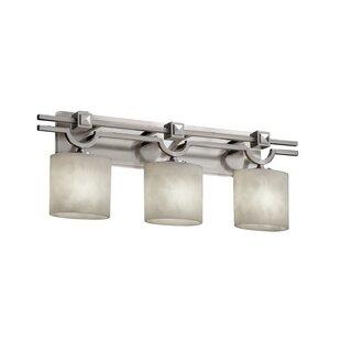 Compare prices Genaro 3-Light Vanity Light By Brayden Studio
