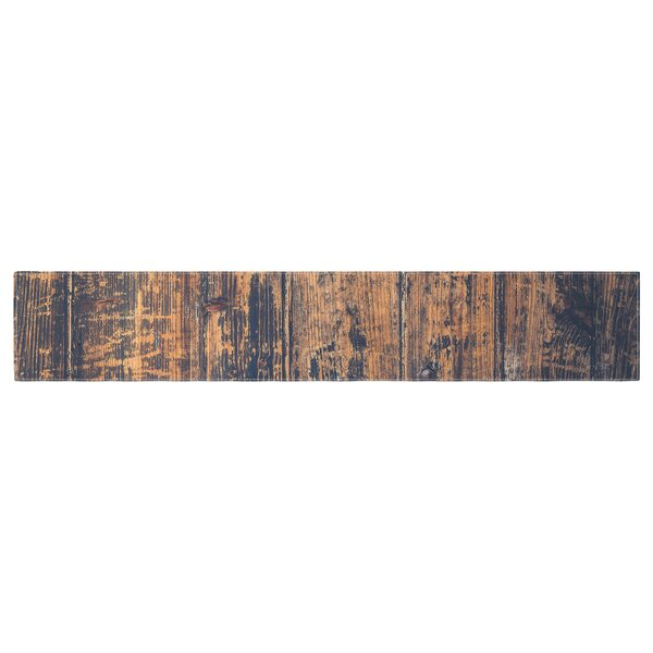 Susan Sanders Barn Floor Rustic Table Runner by East Urban Home