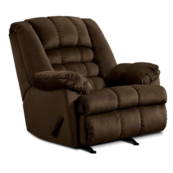 Cabela Manual Rocker Recliner by Simmons Upholstery [Red Barrel Studio]