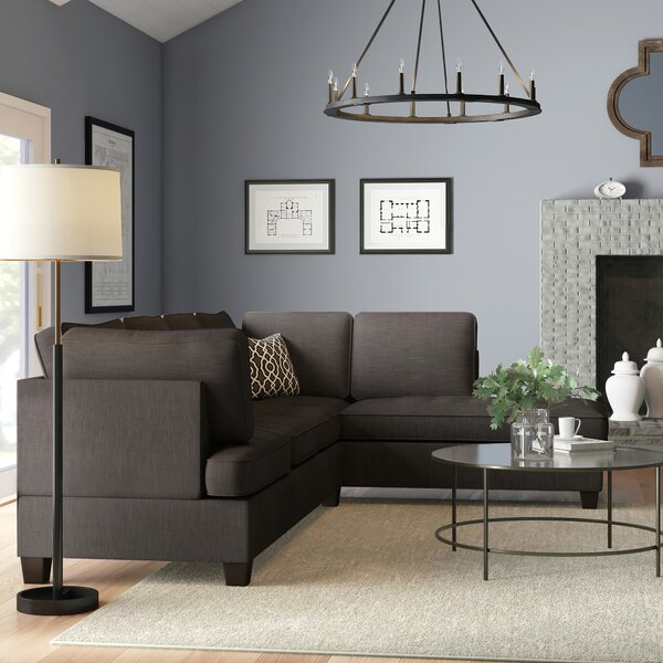 Allenhurst Right Hand Facing Sectional By Charlton Home