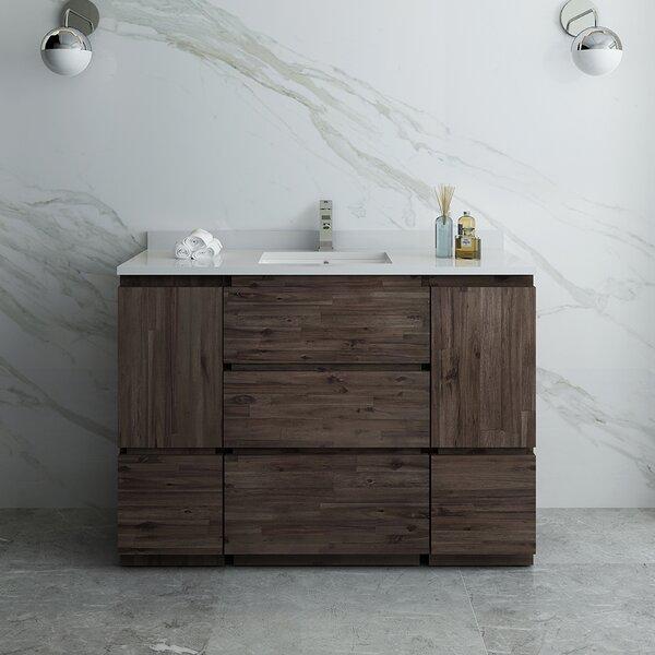 Formosa Floor Standing 47 Single Bathroom Vanity Base Only