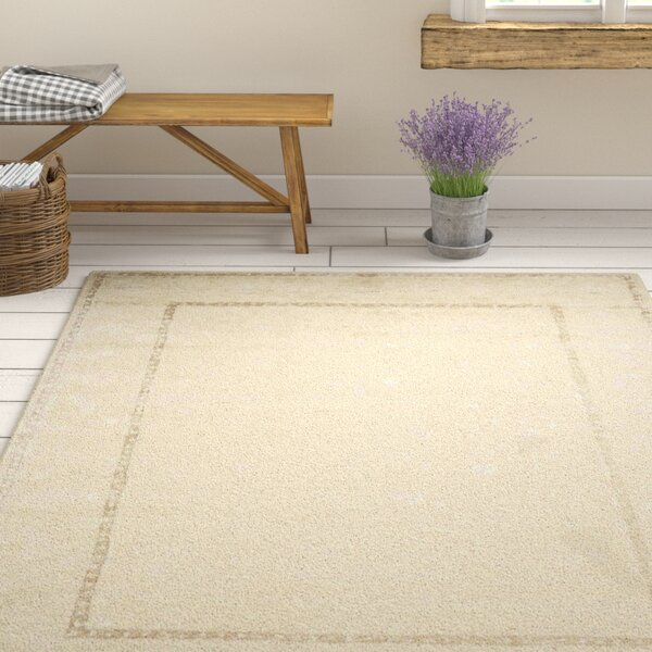 Deslauriers Ivory Area Rug by One Allium Way