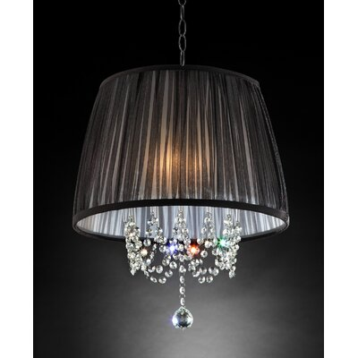 Cosette Oceanides 6 Light Candle Style Chandelier