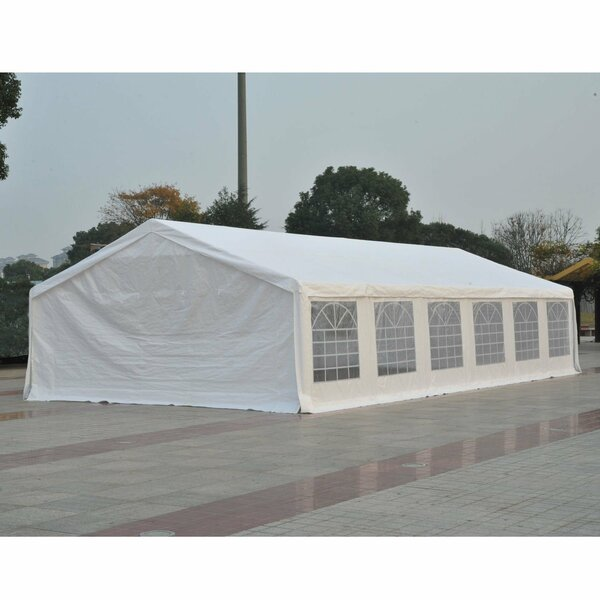 20 Ft. W x 40 Ft. D Steel Party Tent by Outsunny