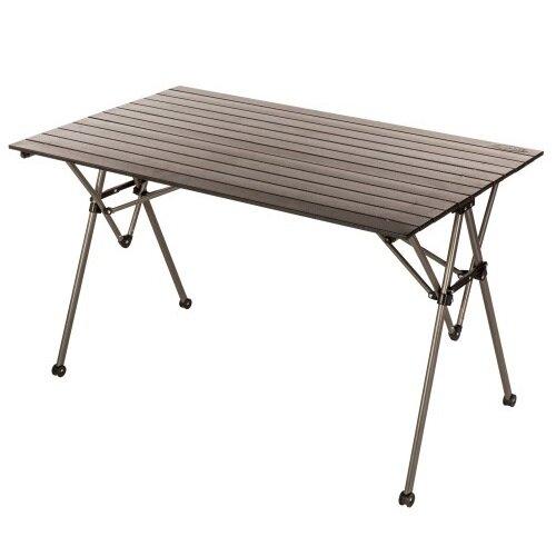 Tabor Folding Aluminum Dining Table by Freeport Park