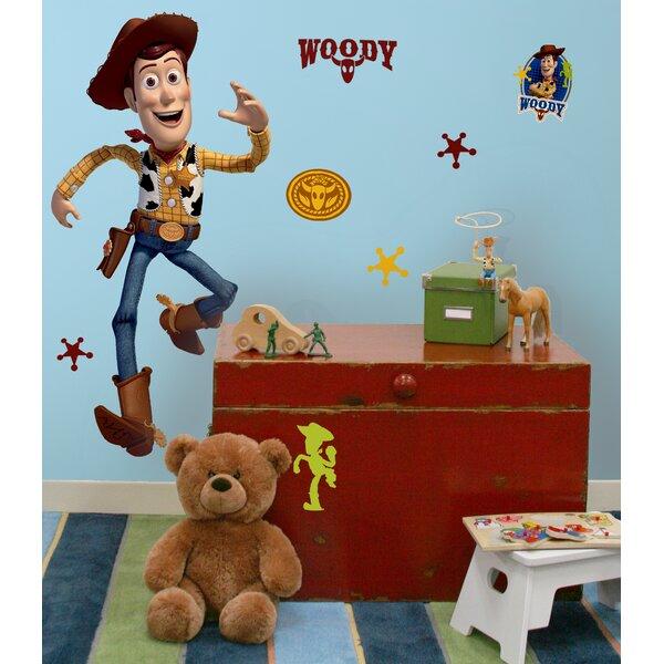 Disney Toy Story 3 Woody Cutout Wall Decal by Wallhogs