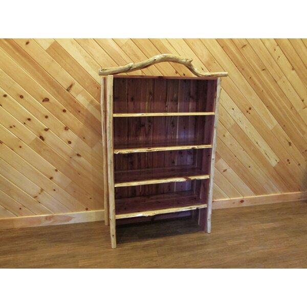 Gosport Log Standard Bookcase By Loon Peak