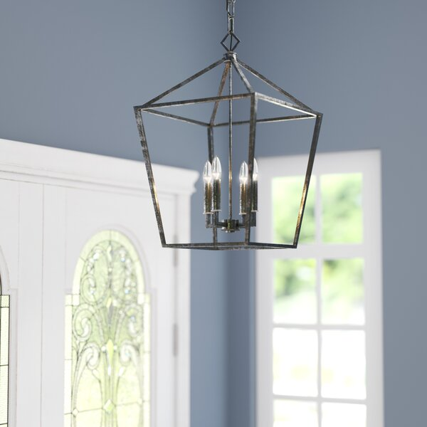 Varnum 4-Light Foyer Pendant by Three Posts