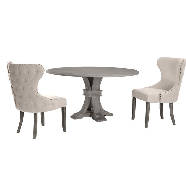 Ahern 3 Piece Dining Set by One Allium Way