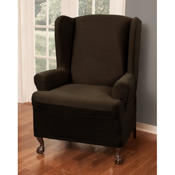 Deals Price T-Cushion Wingback Slipcover
