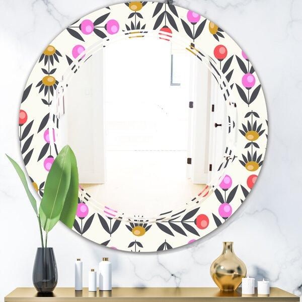 Triple C Floral Design Xi Cottage Americana Frameless Wall Mirror