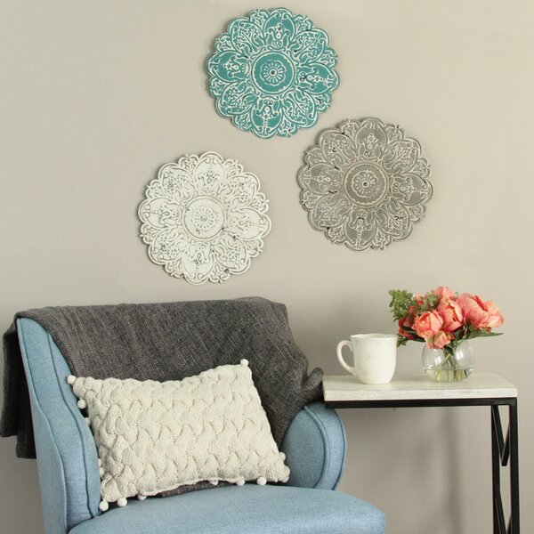 Small Medallion Wall Décor by Bungalow Rose