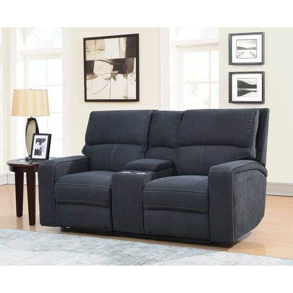 Stephan Reclining Loveseat by Ebern Designs
