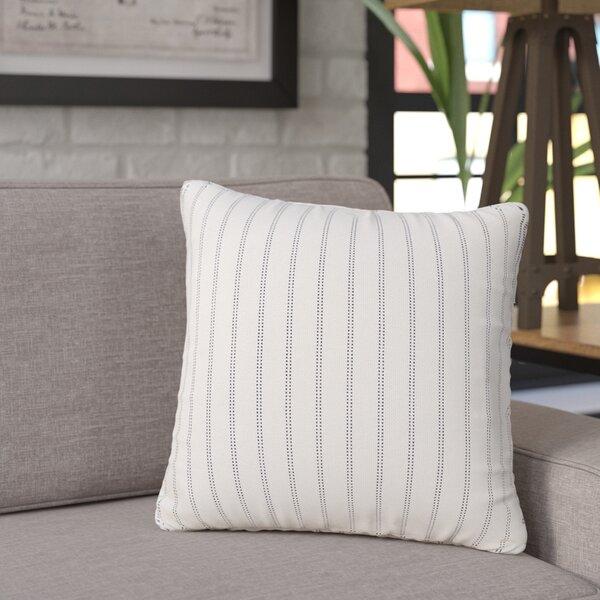 Jonathan Burlap Brick Throw Pillow by Trent Austin Design