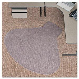 Carpet Chair Mats triangular chair mats you'll love | wayfair