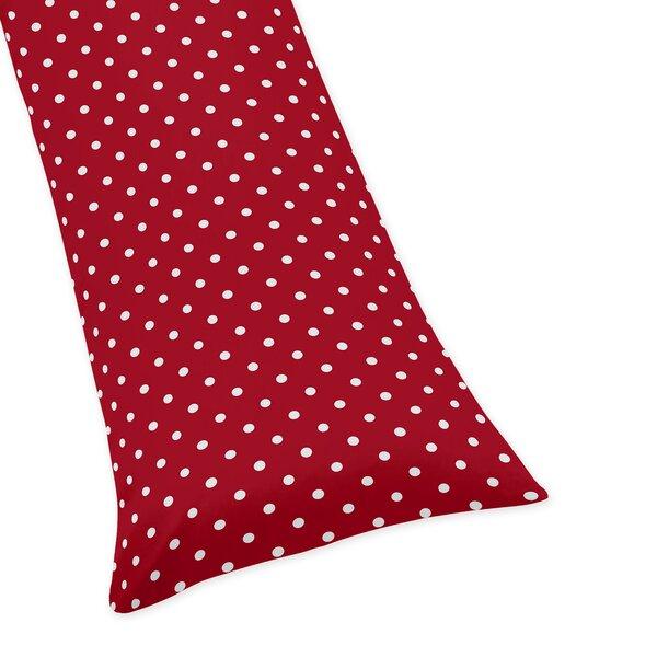 Polka Dot Ladybug Body Pillow Case by Sweet Jojo Designs