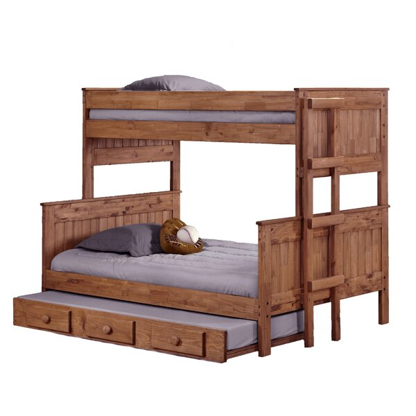 Choquette Stackable Twin Over Full Bunk Bed with Trundle by Harriet Bee