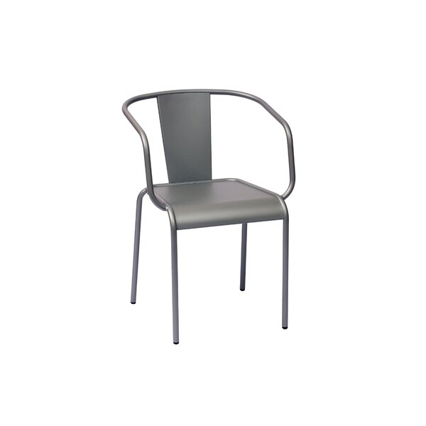 Tara X Stacking Patio Dining Chair By BFM Seating