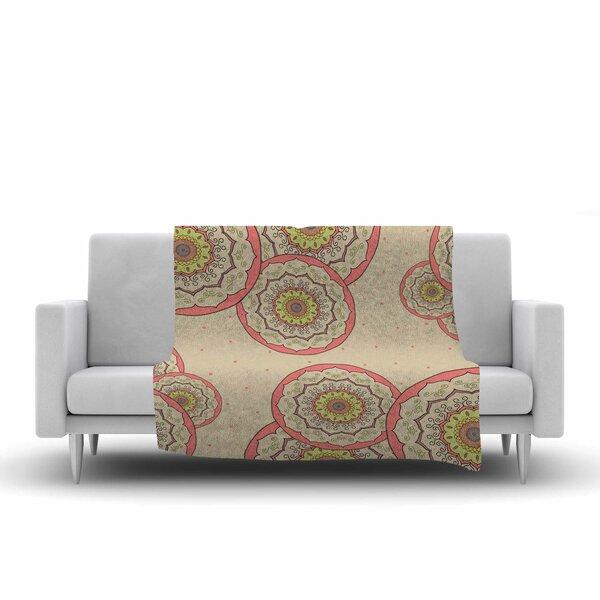 Cristina Bianco Design Mandala Design Illustration Fleece Throw by East Urban Home
