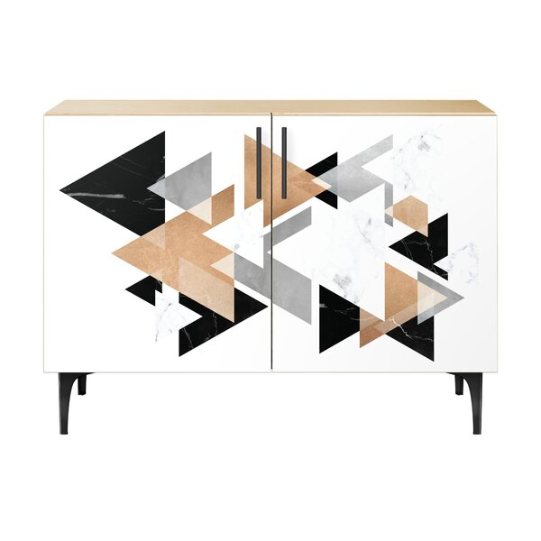 Mccauley 2 Door Cabinet by Brayden Studio