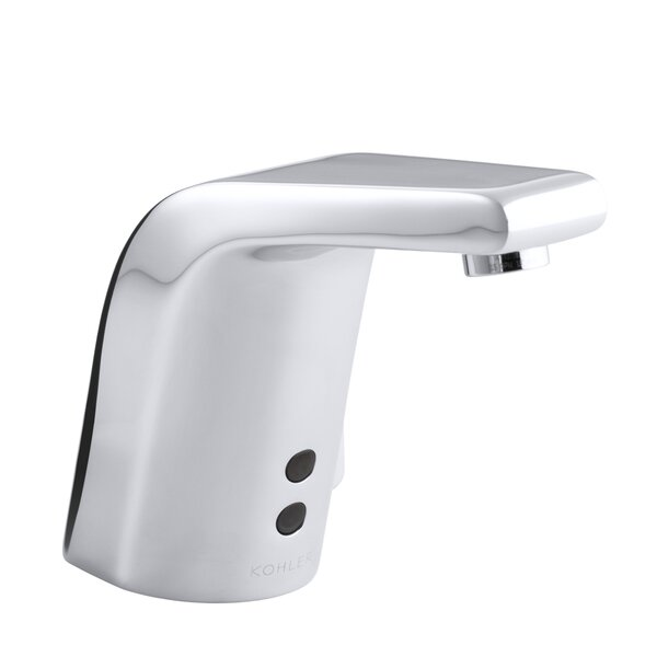Sculpted Single-Hole Touchless Ac-Powered Commercial Bathroom Sink Faucet with Insight Technology, Temperature Mixer and 5-3/4 Spout by Kohler