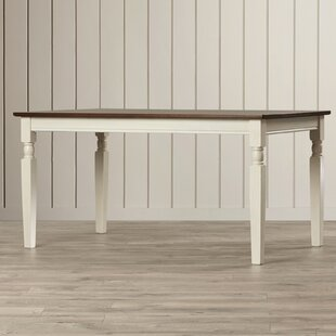 Reviews Leamont Dining Table by Rosecliff Heights