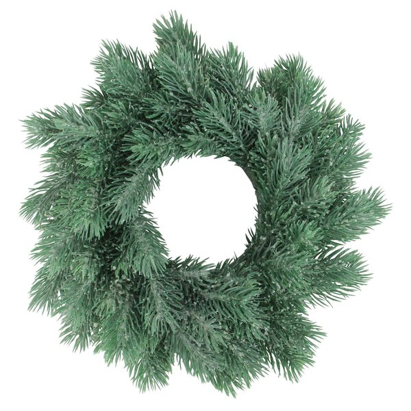 Traditional Decorative Christmas 10 Pine Wreath by The Holiday Aisle