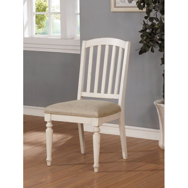 Krause Upholstered Dining Chair (Set of 2) by Rosecliff Heights