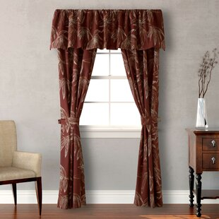 Cayo Cocco 54 Window Curtain Valance By Tommy Bahama Bedding