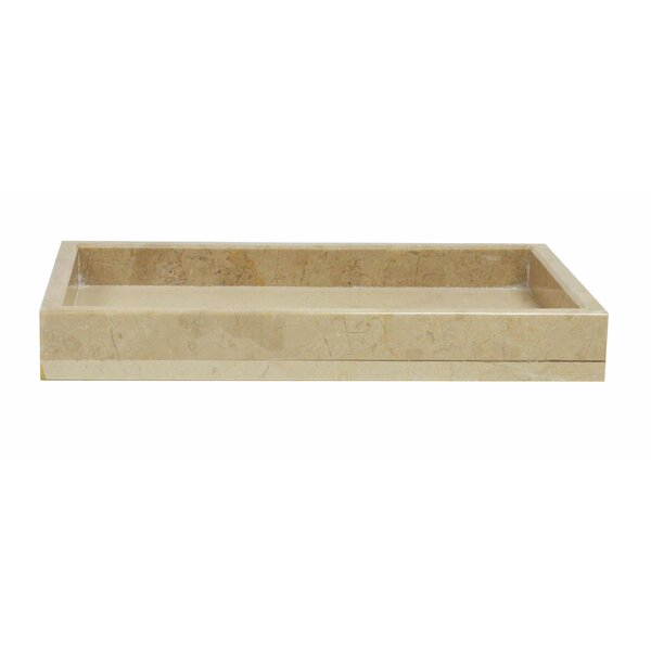 Trevino Marble Bathroom Accessory Tray by Astoria Grand