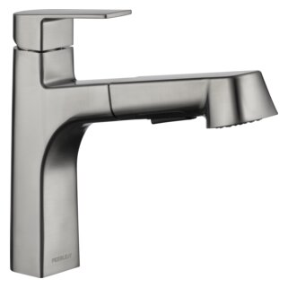 Pull Out Single Handle Kitchen Faucet by Peerless Faucets
