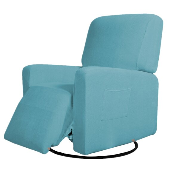 Aaliyah Box Cushion Recliner Slipcover By Winston Porter
